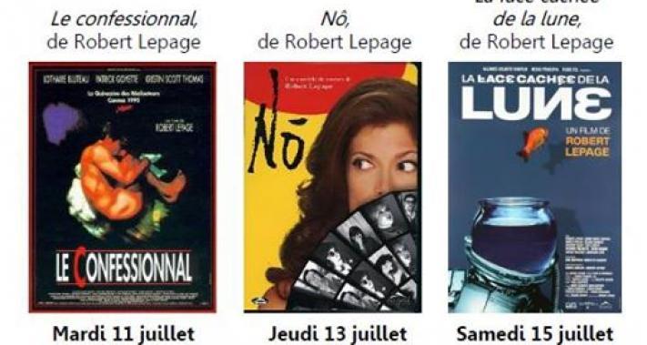 Du 11 au 15 juillet 2017 - Cinéma comme à la Maison   Pleins feux sur Robert Lepage