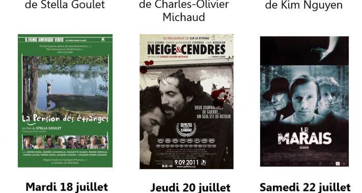 Du 18 au 22 juillet 2017 - Cinéma comme à la Maison   Premiers longs métrages