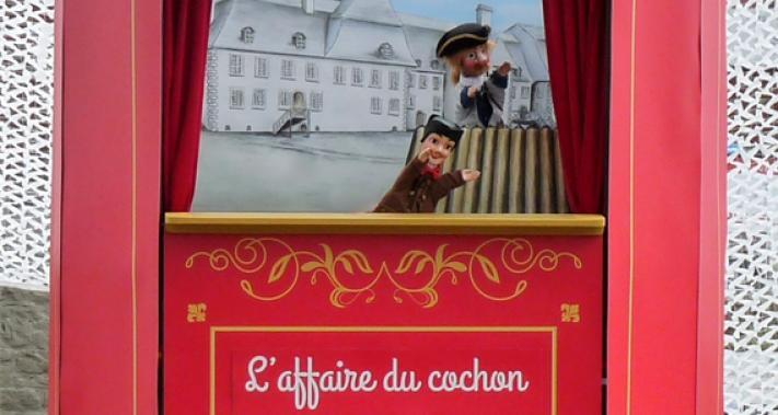 10 août 2017 - Théâtre de marionnette