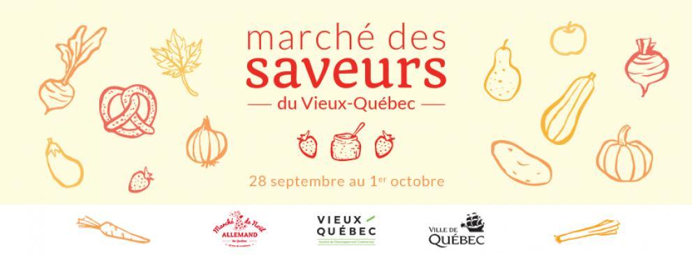 Marché des Saveurs in the Vieux-Quebec