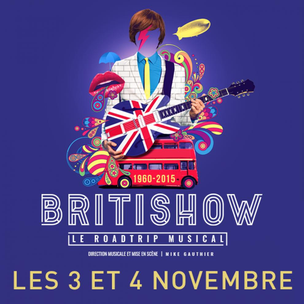 Britishow at Le Capitole