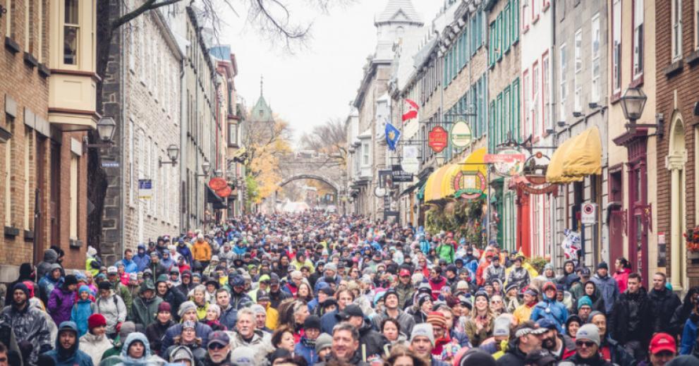 Le Grand défi Pierre Lavoie présente La Grande Marche à Québec