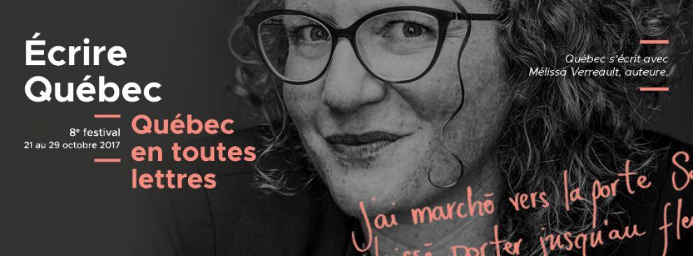 8th edition of Quebec en toute lettres festival