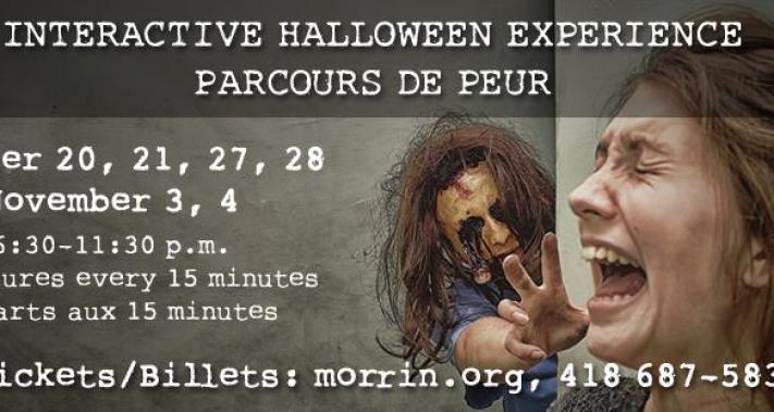 Du 20 au 31 octobre 2017 - Horreurs, zombies et épouvantes au Morrin Center