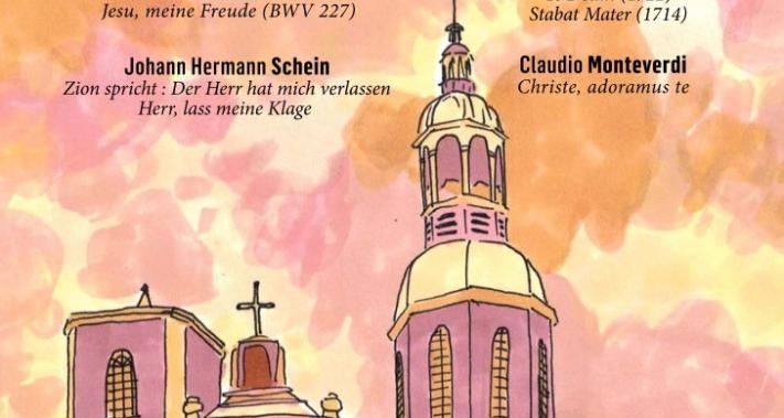 28 novembre 2017 - Concert-bénéfice:Sept chefs-d'œuvre sacrés présentés par L'Ensemble Jacques Moderne