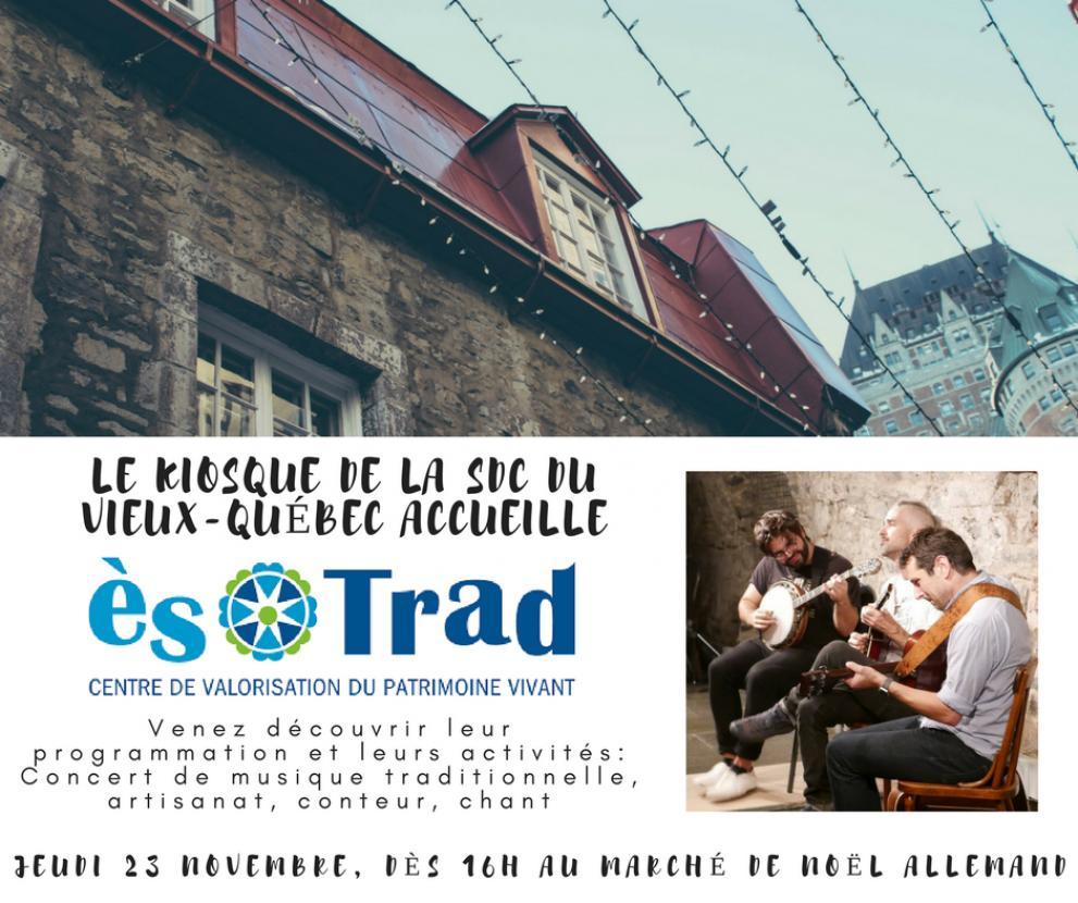 Quebec city german Xmas market: CVPC ``es trad``