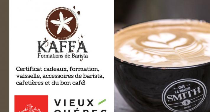 From November 25 to November 26, 2017 - SDC Vieux-Québec and Maison Smith presents: Kaffa