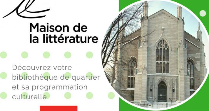 Du 7 au 8 décembre 2017 - La Maison de la Littérature au kiosque de la SDC Vieux-Québec