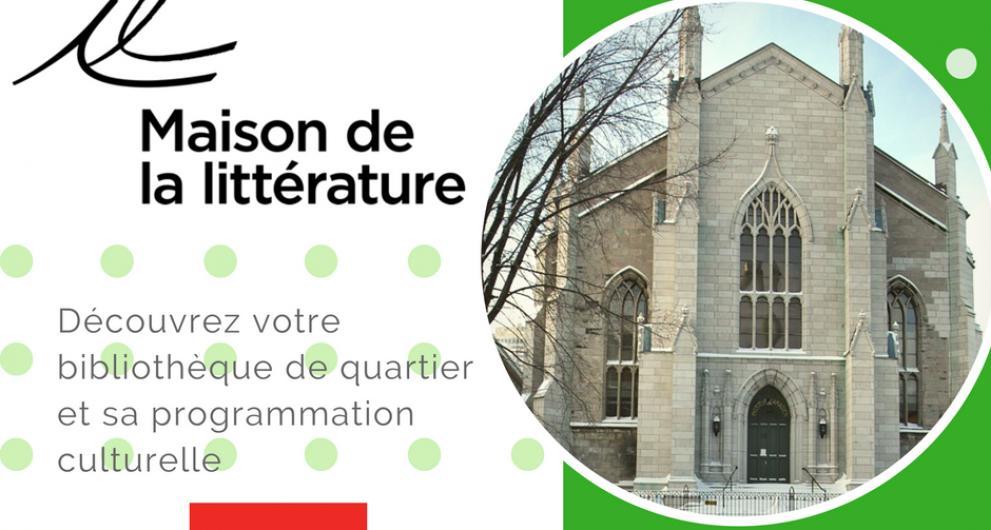 La SDC Vieux-Québec présente La Maison de la littérature au marché de Noël allemand