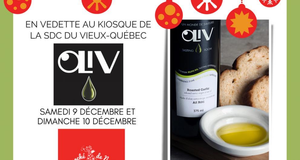 La SDC Vieux-Québec présente OLIV au marché de Noël allemand