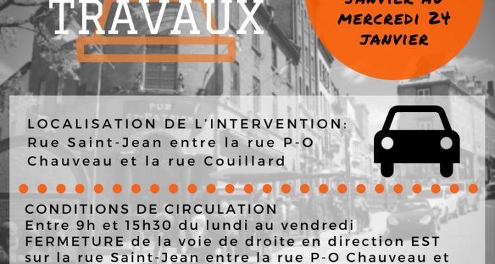2018-01-17 - Travaux devant rue P-O Chauveau