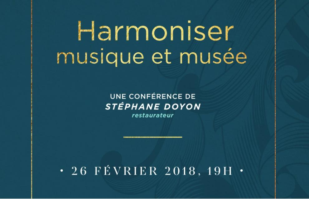 «Harmoniser musique et musée»