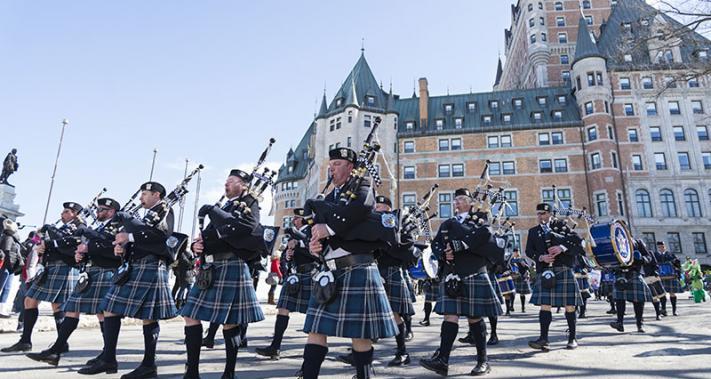 24 mars 2018 - Défilé de la Saint-Patrick à Québec
