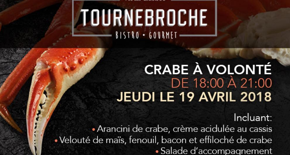 2è édition du Crab Fest au Tournebroche