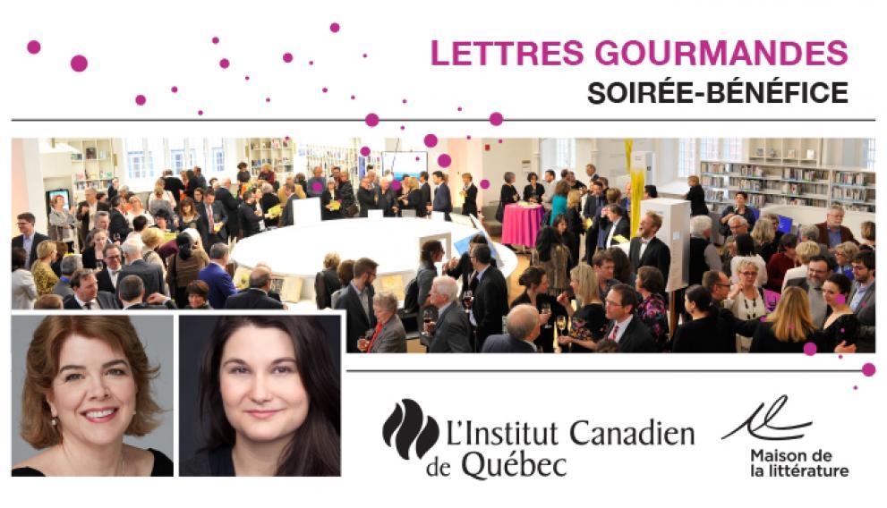 Maison de la Littérature, fundraising gala: »Lettres gourmandes»