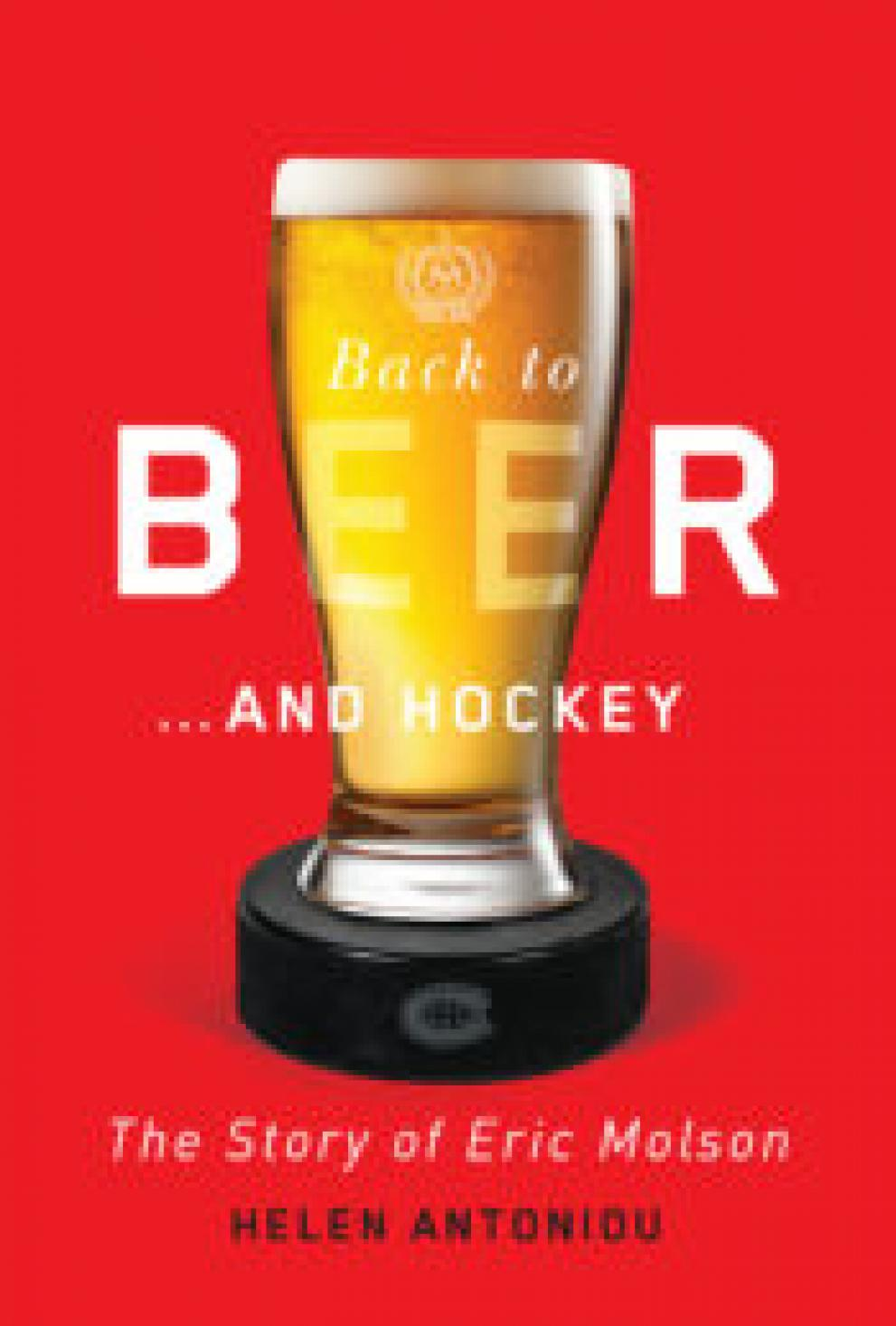 Morrin Center book launch: Back to Beer...and Hockey: an ImagiNation .off-festival event