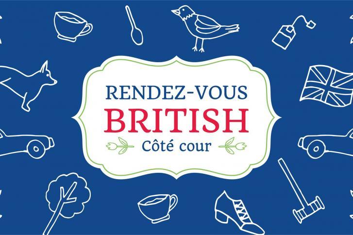 1 juin 2018 - La SDC Vieux-Québec présente: Rendez-vous british, côté cour