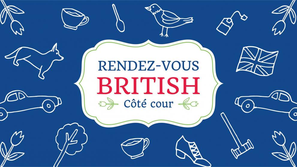 SDC Vieux-Quebec presents: RDV British, a garden party
