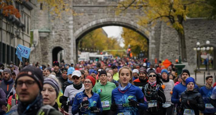Du 11 au 13 octobre 2019 - Marathon SSQ Assurance de Québec, une invitation santé Brunet