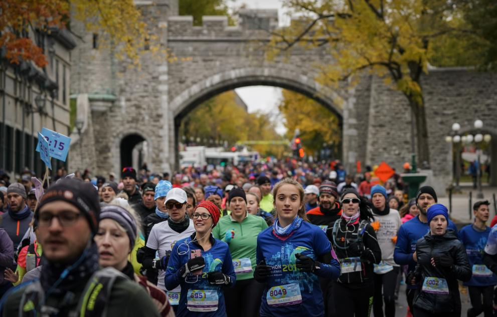 Marathon SSQ Assurance de Québec, une invitation santé Brunet