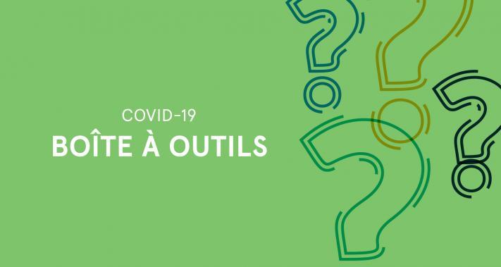 2020-03-26 - Boîte à outils COVID 19 pour les membres de la SDC