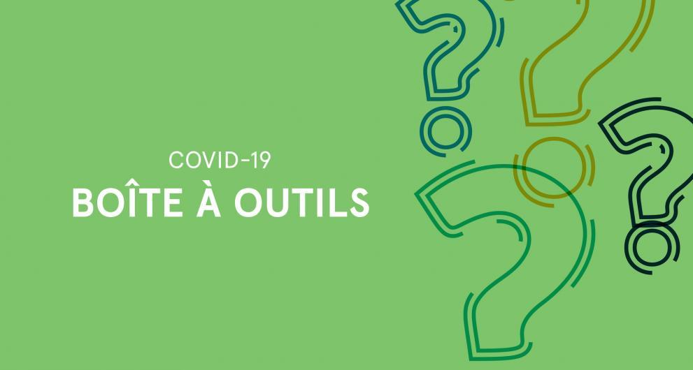 Boîte à outils COVID 19 pour les membres de la SDC