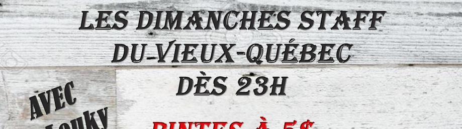 Promotion pour TRAVAILLEURS du Vieux-Québec - Bistro Plus