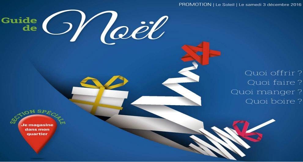 Guide de Noël Le Soleil : Je magasine dans mon quartier