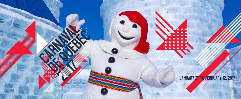 Venez vivre le Carnaval d'hiver de Québec
