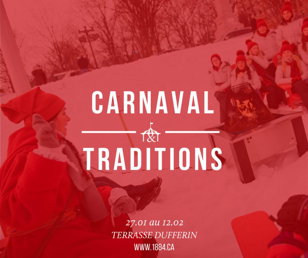 Carnival and tradition on the Dufferin Terrace